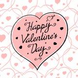 St Valentine Pink Royalty Free Stock Photos