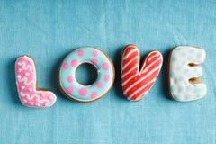 St. Valentine's cakes - Stock Image Stock Photos