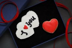 St. Valentine's cakes - Stock Image Stock Image