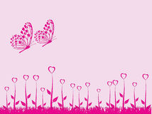 St.valentine's card Royalty Free Stock Photography
