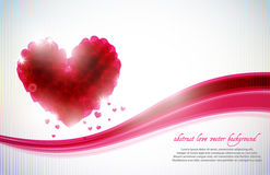 St. Valentine's day background Stock Photos