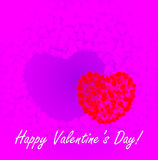 St. Valentine's Day background Stock Photography