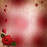 St. Valentine's Day Background Royalty Free Stock Photography