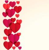 St. Valentine's day background Stock Image