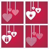 St. valentine's day backgrounds Royalty Free Stock Images