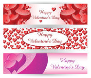 St. Valentine S Day Banner Royalty Free Stock Photo