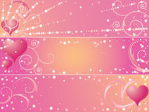 St. Valentine's Day banners Royalty Free Stock Image