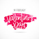 St. Valentine`s Day. 14 February Stock Photography
