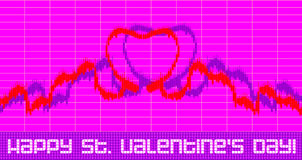 St. Valentine's Day greeting Stock Images