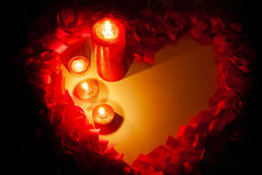 St. Valentine's day greeting background Royalty Free Stock Photo