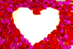 St. Valentine's day greeting background Royalty Free Stock Photos