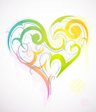 St. Valentine`s Day heart-shape stock photos