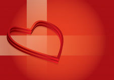 St. Valentine's day illustration Royalty Free Stock Photos