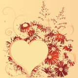 St. Valentine's Day pattern Stock Photography