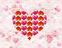 St. Valentine''s day postal Stock Photography