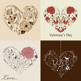 St. Valentine's day set Royalty Free Stock Photo