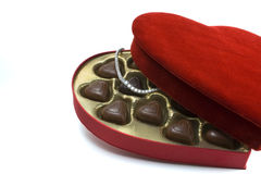 St. Valentine's day surprise. A nice St. Valentine's day surprise stock image