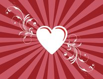 St. Valentine''s day texture Stock Image
