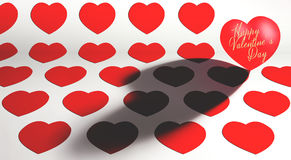 St Valentine`s Day theme background stock photo
