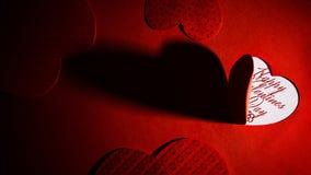 St Valentine ` s de achtergrond van het Dagthema Royalty-vrije Stock Foto's