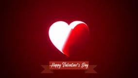 St Valentine ` s de achtergrond van het Dagthema Royalty-vrije Stock Afbeeldingen