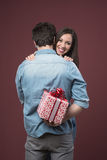 St Valentine's gift Stock Photography