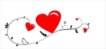 St. Valentine's heart Stock Image