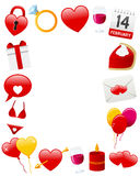 St. Valentine s Photo Frame Stock Photos