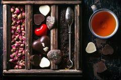 st Valentine Tea Stock Photo