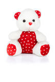 St.Valentine teddy bear Stock Photos