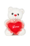 St.Valentine teddy bear Stock Photos