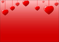 St. valentines day background Stock Images