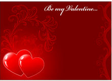 St. valentines day background Royalty Free Stock Photo