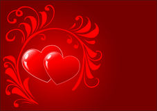 St. valentines day background Royalty Free Stock Images