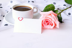St Valentines day background Stock Images