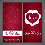 St Valentines day background Stock Image