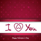 St Valentines day background Royalty Free Stock Photo