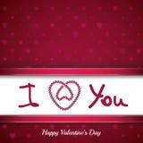 St Valentines day background Royalty Free Stock Photo