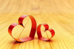 St Valentines day card, romantic love concept Stock Images