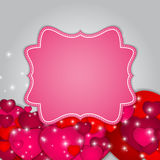 St Valentines  Day Greeting Card Vector Royalty Free Stock Photos