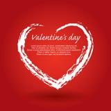 St. Valentines day illustration Royalty Free Stock Photo