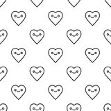 St. Valentines Day seamless pattern Royalty Free Stock Photos