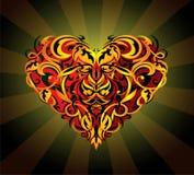 St. Valentines heart-shape stock photography