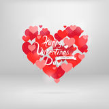 St. Valentines heart shape Royalty Free Stock Photography