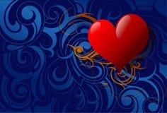 St. Valentines illustration Royalty Free Stock Photos
