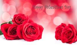 St.Valentines postcard Stock Images