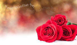 St.Valentines postcard Stock Photography