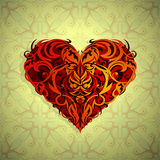 St Valentines theme Heart shape Royalty Free Stock Photography