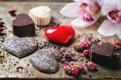 St.-Valentinsgruß-Grußkarte Stockbild