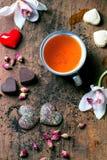 St.-Valentinsgruß-Grußkarte Lizenzfreie Stockbilder